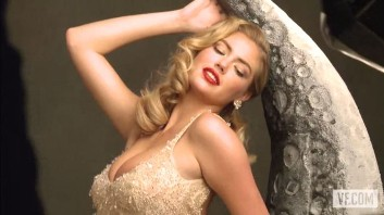 Kate Upton, covergiri sexy Marlyn Monroe