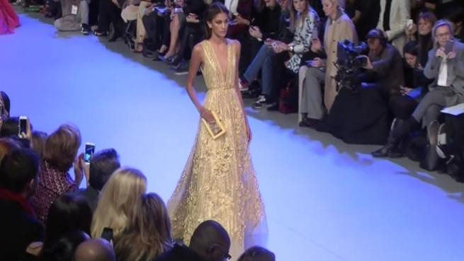 Elie saab for Couture a valenciennes