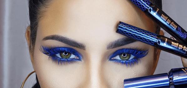 50 sfumature di blu: dal cobalto al turchese è lui il protagonista del makeup 2016